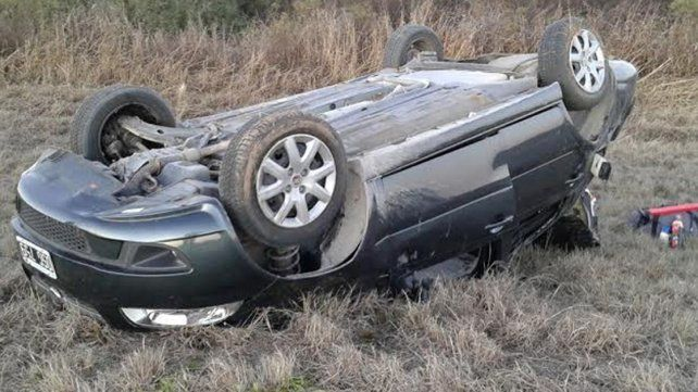 Adolescente paranaense murió en un vuelco en San Luis