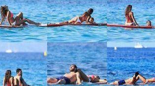 Las vacaciones de Lio Messi y Antonella en Ibiza