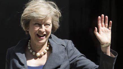 Theresa May, la sucesora de David Cameron en el Reino Unido