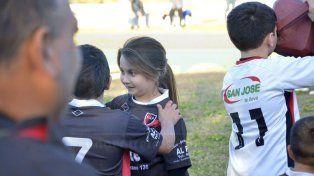 Una de las pequeñas que es integrante de Palermo.