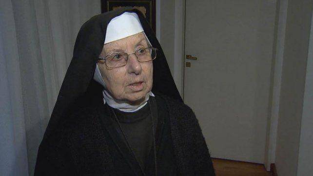 La hermana Inés es una religiosa autoclausurada