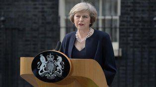 Theresa May asumió como primera ministra y prometió unificar al Reino Unido