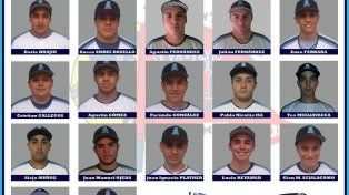 Softbol juvenil: se conoció la lista de jugadores que viajaran al mundial