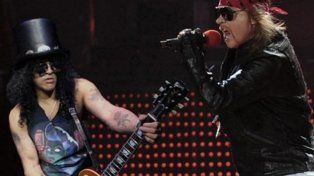Guns N Roses vuelve a la Argentina en noviembre para tocar en el Monumental de Núñez