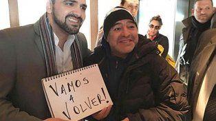 Diego Maradona: Vamos a volver con Cristina y recuperaremos las Malvinas