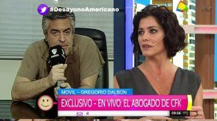Fuerte cruce entre Pamela David y Novaresio con el abogado de Cristina, Dalbón