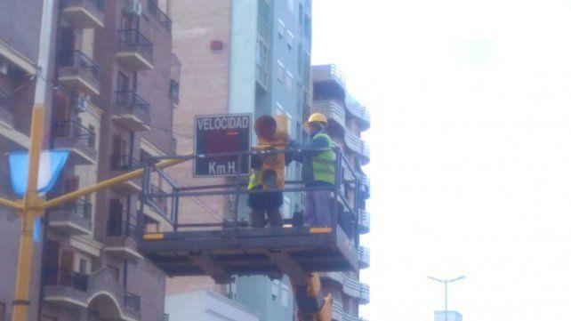 Cambian el sentido de los semáforos en el centro de Paraná