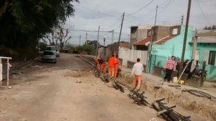 Asfaltado. Son trabajos que mejoran la infraestructura urbana.