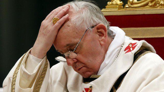 El Papa Francisco condenó el atentado de Niza