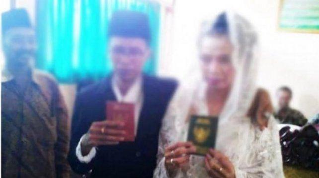 Una joven se casó y descubrió que su marido en realidad era una mujer
