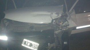 Dos muertos en un choque en cadena en la autopista Santa Fe - Rosario