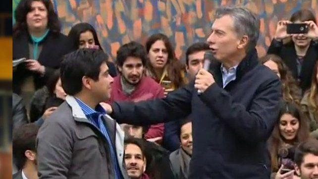 Macri encabezó un acto y evitó hablar del Ruidazo del jueves