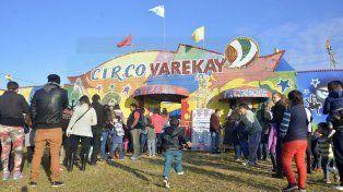 Para todas las edades. El circo Varekay promueve un espectáculo para toda la familia.