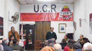 Se lanzó la candidatura de Marcelo López para conducir la UCR