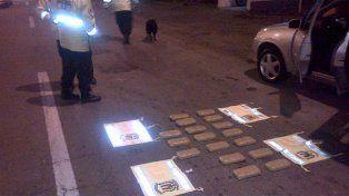 Dictaron prisión preventiva a los detenidos por trasladar cocaína en Entre Ríos