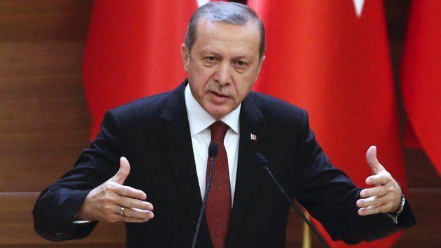 El presidente turco pidió restaurar la pena de muerte