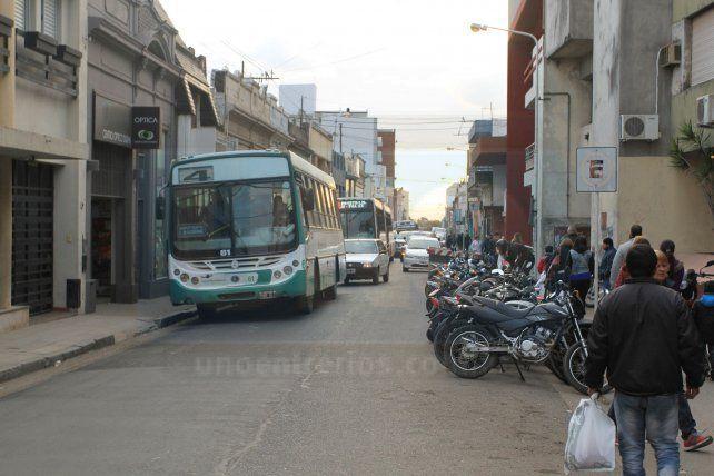 El municipio de Paraná difundió el nuevo listado de las paradas de colectivos