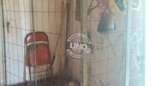 Robaron herramientas en el club Sportivo Entre Ríos