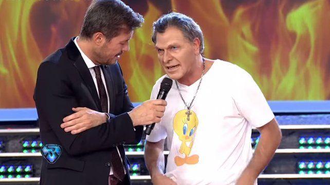 Macri dice que se toma con humor la imitación que hacen en Showmatch