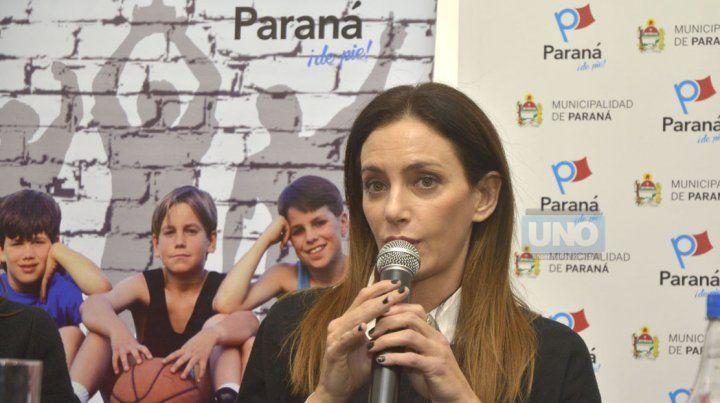 Luciana Aimar revolucionó el ambiente deportivo en Paraná