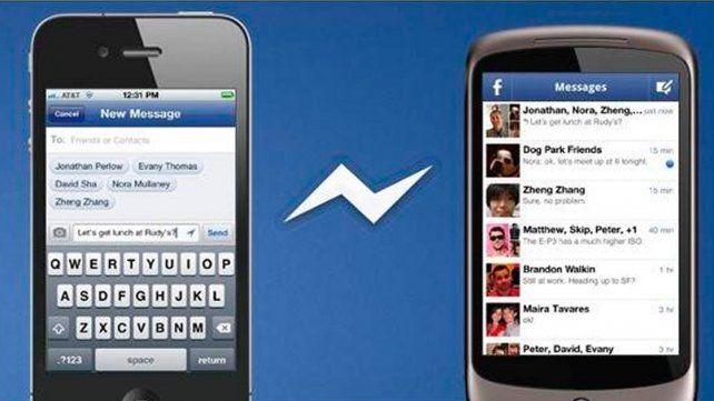 Empate técnico entre Facebook Messenger y Whatsapp