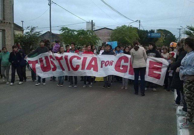 Santa Elena se movilizará al cumplirse tres meses de la desaparición y muerte de Gisela López