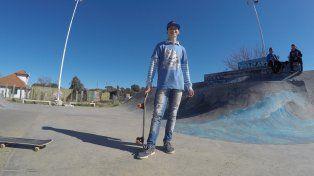 Pablo Ballesteros tiene 15 años y es de Puerto Viejo. Foto UNO Juan Manuel Kunzi.