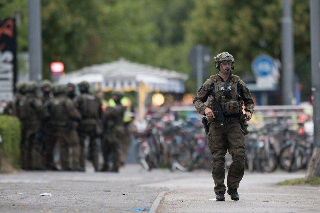 Hay alta alerta terrorista por el tiroteo en Munich que deja al menos seis muertos