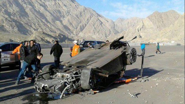 Impresionante accidente de un corredor de Top Race en el autódromo El Zonda