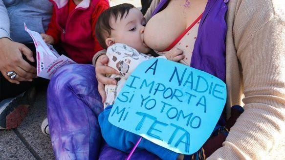 Rosario se sumó a la defensa de la lactancia en público