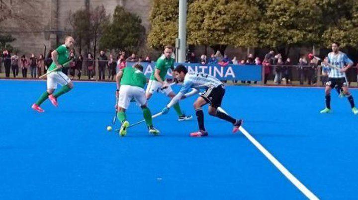 Los Leones vencieron a Irlanda en un amistoso