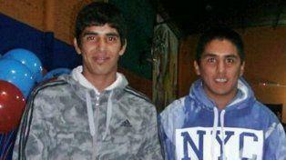 Daniel y Axel Caprile, el primero lucha por su vida y el segundo falleció.