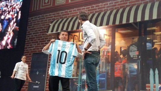 El Cake Boss, Buddy Valastro, está en Argentina