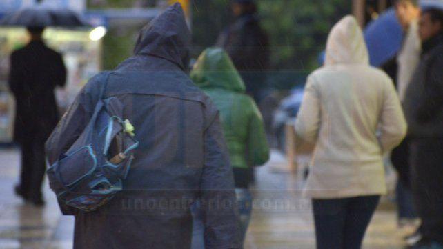 SMN renovó el alerta por lluvias intensas