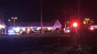 El parking del club Blu es el lugar donde se oyeron al menos 30 disparos