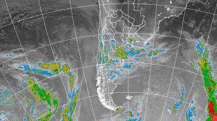 Alerta para una parte de Entre Ríos con tormentas y granizada
