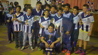 La categoría 2004 de Universitario Blanco culminó cuarta en el torneo.