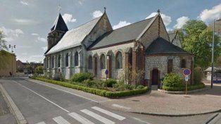 Esta es la iglesia que fue tomada por los presuntos terroristas