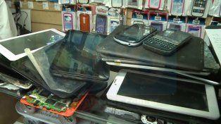 La Policía denunció el faltante de 120 celulares