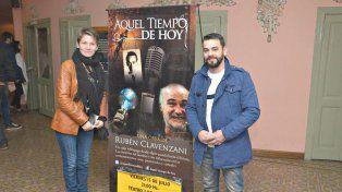 Exitoso show de Rubén Clavenzani