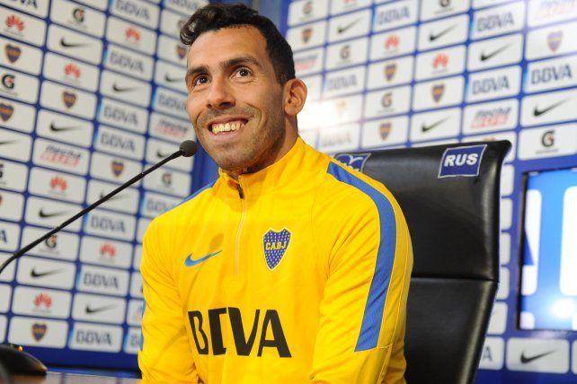 Carlos Tevez: Tengo tres años de contrato y mi idea es retirarme en Boca