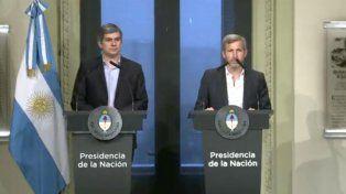 Peña: La apertura o no de las paritarias no es una cuestión del Gobierno