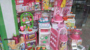 Esperan que las compras se realicen en las jugueterias para reactivar el sector comercial. UNO Juan Ignacio Pereira.