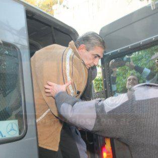 Moyano, al ser detenido en 2009.