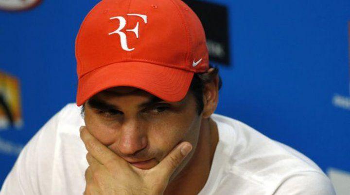 Federer anunció que no irá a Río