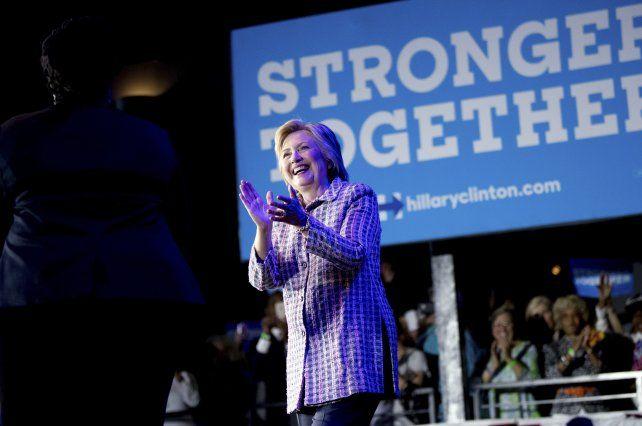 Nominaron a Hillary Clinton como primera mujer candidata presidencial de EEUU