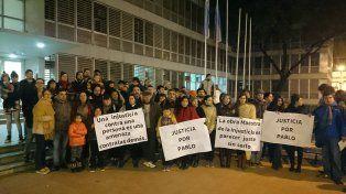 Familiares y amigos de Pablo Actis se manifestaron en Tribunales
