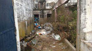 Abandono y contaminación en Paraná