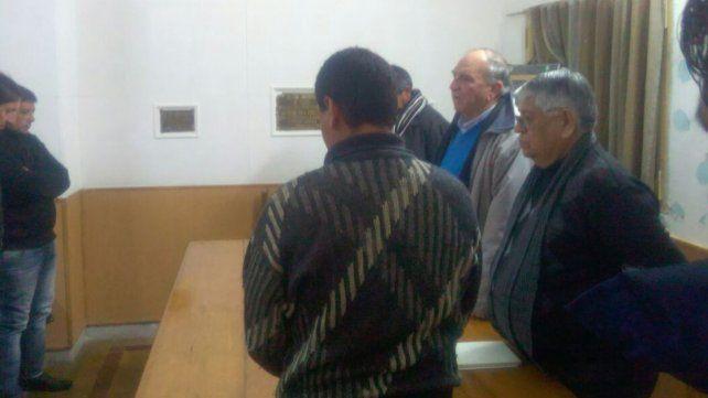 En la reunión se realizó un minuto de silencio en memoria del periodista Jorge Santana.