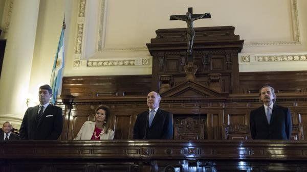 La Corte Suprema tiene hoy cuatro miembros